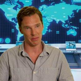 Benedict Cumberbatch das Aussehen seiner Figur - OV-Interview