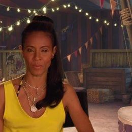 Jada Pinkett Smith - Gloria - darüber wie die Zootiere den Zirkus aufmischen - OV-Interview Poster