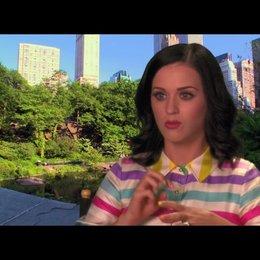 Katy Perry über die Synchronarbeiten - OV-Interview
