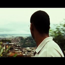 André Matias in den Favelas - Szene Poster
