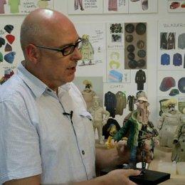 Nigel Leach - Modellbauer - über die Mechanik in den Figuren - OV-Interview Poster