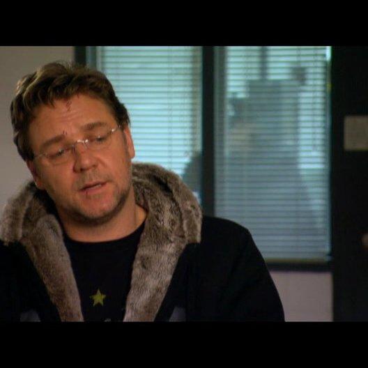 Russel Crowe (John Brennan) über die Story (1) - OV-Interview