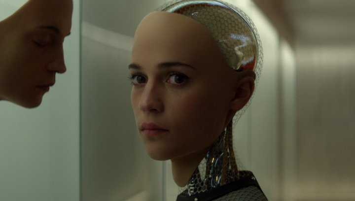 Ex Machina - Trailer Poster