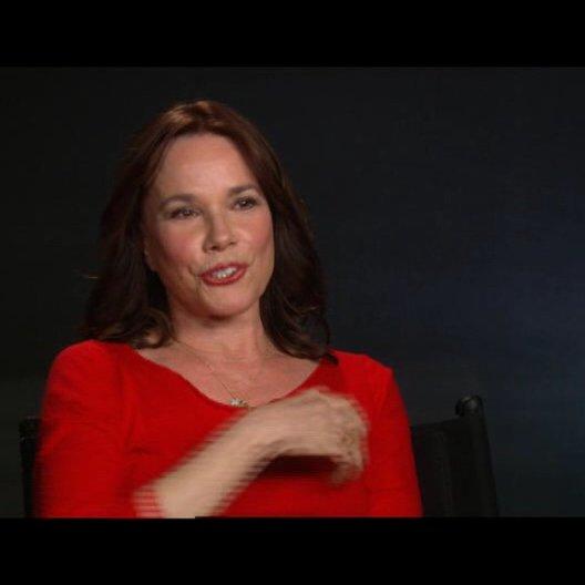 Barbara Hershey über die Vorbereitungen auf ihre Rolle - OV-Interview