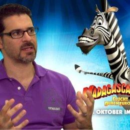 Rick Kavanian - Marty - warum er MADAGASCAR so gerne mag - Interview Poster