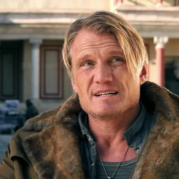 Dolph Lundgren -Gunnar Jensen- über die Action in The Expendables 2 - OV-Interview