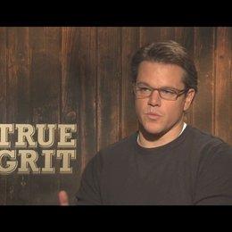 Matt Damon (La Boeuf) über die Buchvorlage zu True Grit - OV-Interview Poster