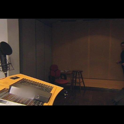 Im Synchronstudio mit Herrn Brandt - Making Of
