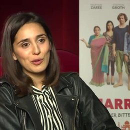Maryam Zaree über die Tanzeinlagen im Film, über den in Film gezeigten Culture Clash, über die mögliche Problematik multikultureller Beziehungen - Int Poster