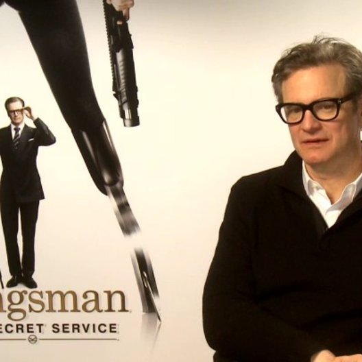 Colin Firth über seine Rolle als Harry Hart - OV-Interview Poster