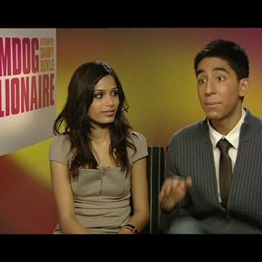 """Dev Patel """"Jamal"""" - über die story und seine Rolle - OV-Interview"""