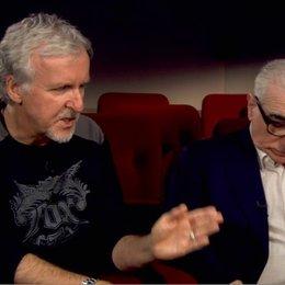 Martin Scorsese und James Cameron - Featurette Poster