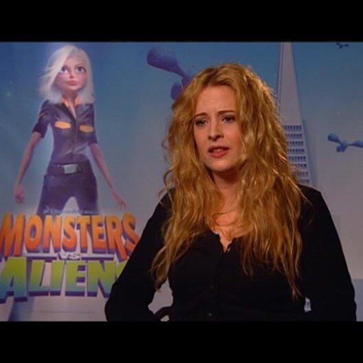 Diana Amft / über das Synchronisieren ihrer Rolle - Interview Poster