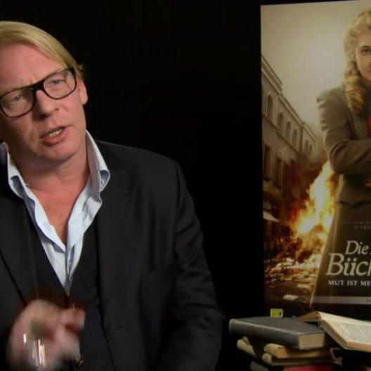 Ben Becker - Der Tod - über das Paradoxe an seiner Rolle - Interview Poster