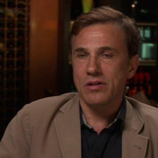 Christoph Waltz - Walter Keane - über  Tim Burton - OV-Interview Poster