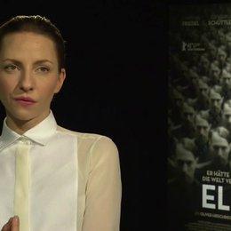 Katharina Schüttler (Elsa) darüber was Elser wohl so attraktiv gemacht hat, darüber was wir von Elser lernen können - Interview