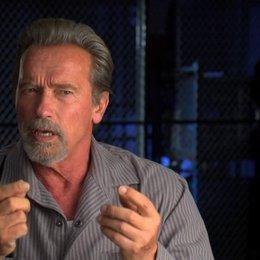 Arnold Schwarzenegger darüber einen Film mit Sylvester Stallone zu machen - OV-Interview