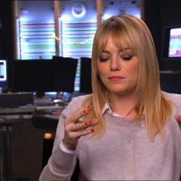 Emma Stone (Eep) darüber wie der Film sich zusammen fügt - OV-Interview