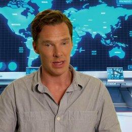 Benedict Cumberbatch über die Animation - OV-Interview