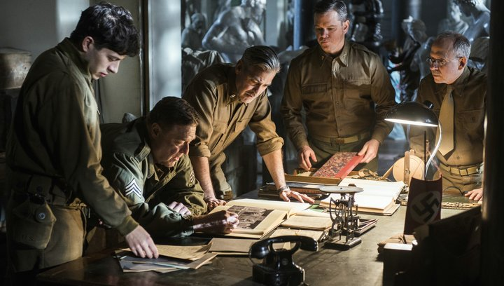 Monuments Men (VoD-/BluRay-/DVD-Trailer) Poster
