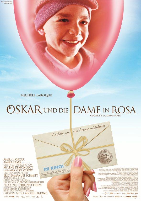 Oskar und die Dame in Rosa Poster