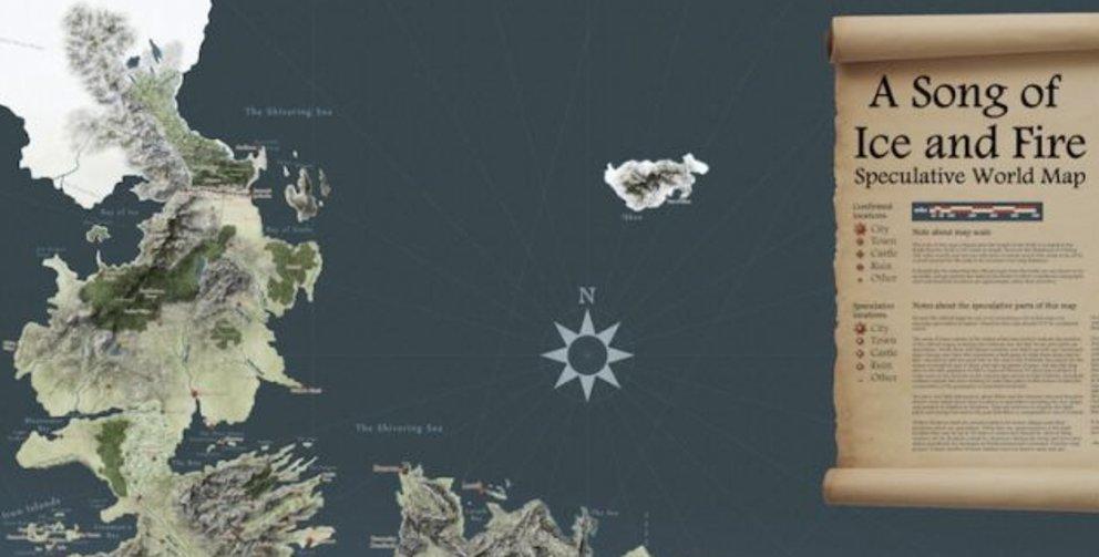 Got Karte Deutsch.Game Of Thrones Die Besten Karten Von Westeros Und Essos