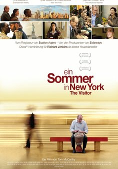 Ein Sommer in New York - The Visitor Poster