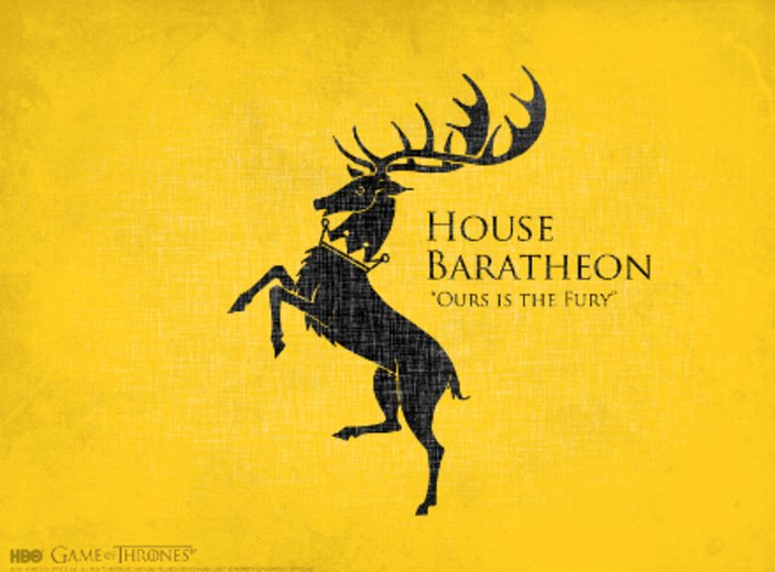Game of Thrones Haus Baratheon © HBO