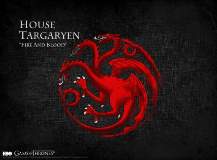 """Game of Thrones"" Haus Targaryen © HBO"