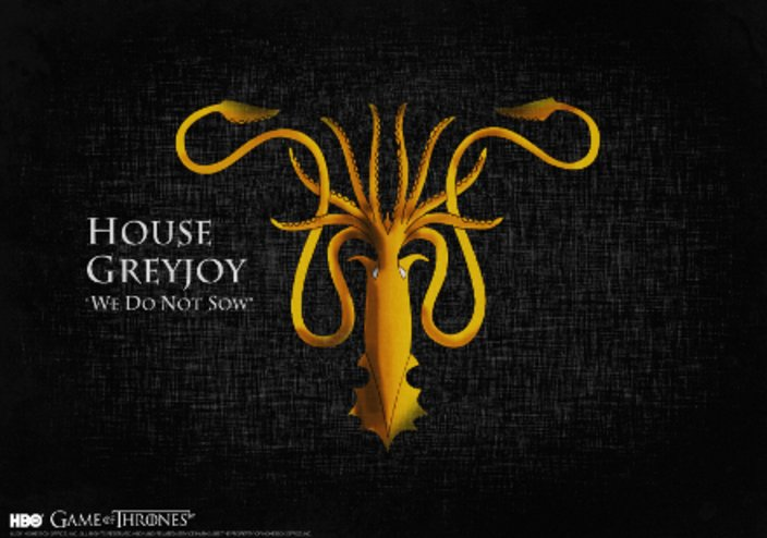 """Game of Thrones"" Haus Greyjoy © HBO"