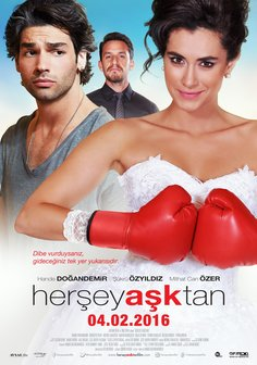 Her Sey Asktan Poster