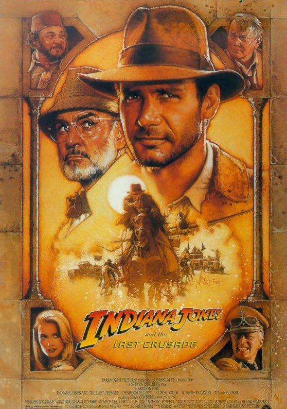Indiana Jones und der letzte Kreuzzug Poster