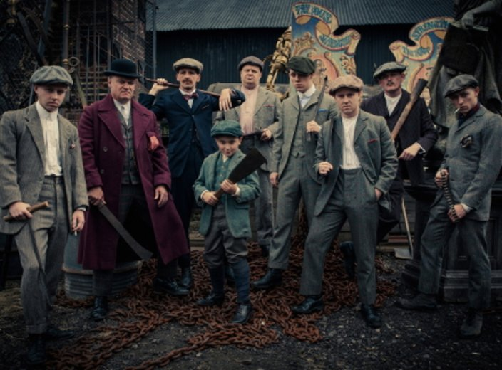 Die Peaky Blinders Gang © BBC/Sky