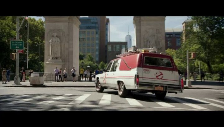 Ghostbusters - Trailer Poster