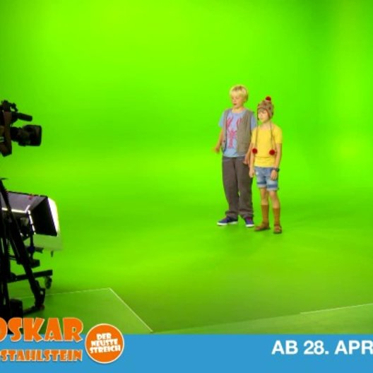Greenscreen-Spaß mit Anton und Juri - Making Of Poster