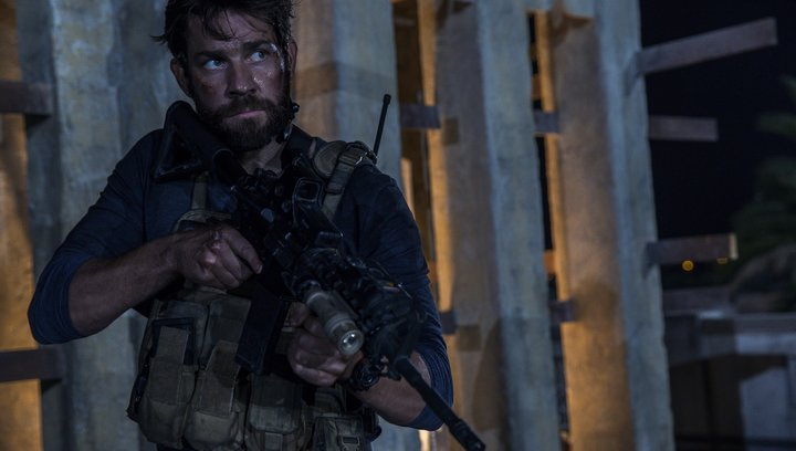 13 Hours: The Secret Soldiers of Benghazi - Trailer Poster