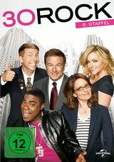 30 Rock - 6. Staffel (3 Discs) Poster