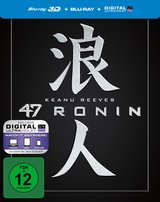 47 Ronin (Blu-ray 3D, + Blu-ray 2D, Limited Edition, Steelbook) Poster