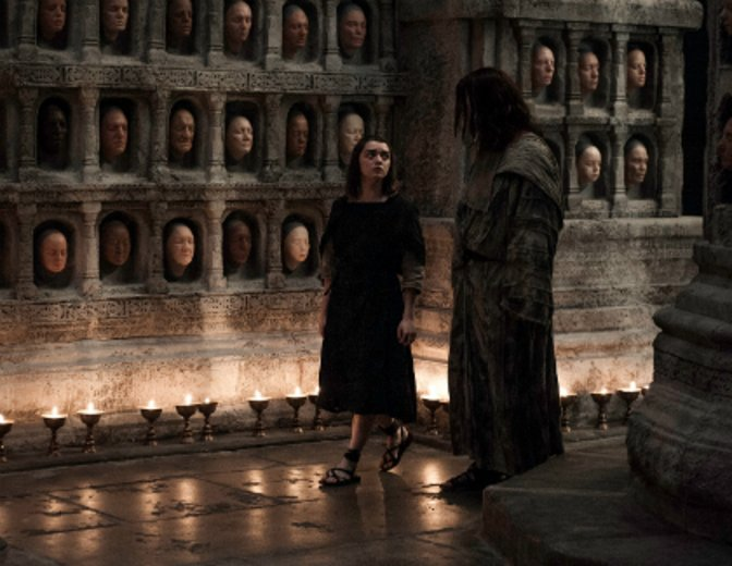 Game of Thrones Folge 5 Das Tor Arya Jaqen Hghar