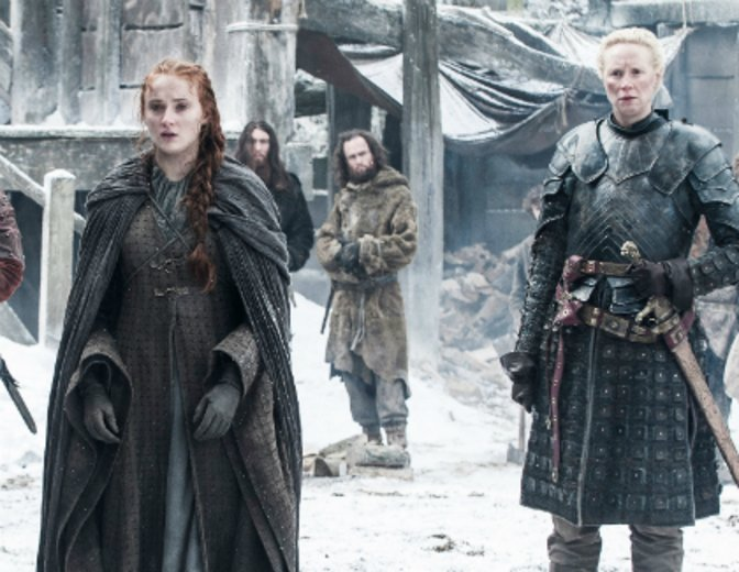 Game of Thrones Staffel 6 Sophie Turner Gwendoline Christie