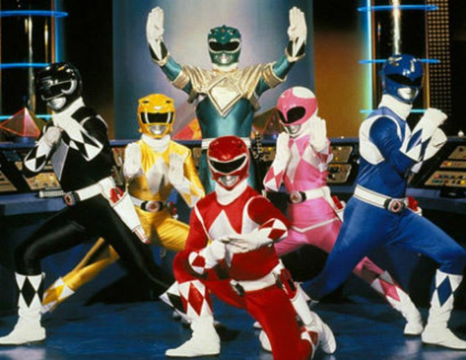 Power Rangers Film Kostme