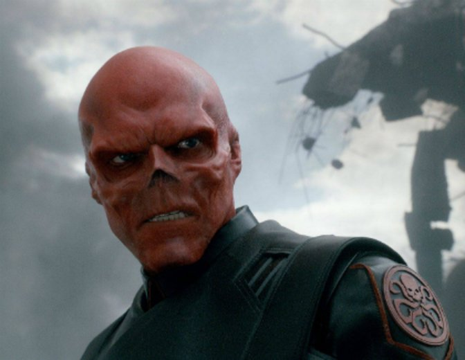 Red Skull Hydra Twist Captain America