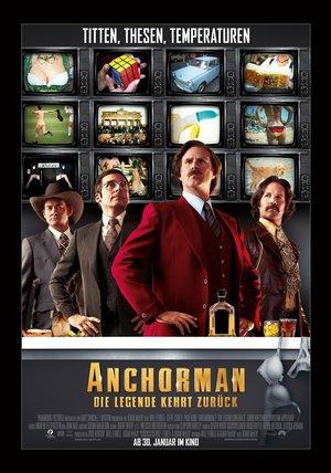 Anchorman - Die Legende kehrt zurück Poster