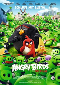 Film-Poster für The Angry Birds Movie ( 3D )