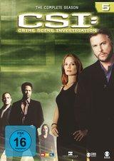 CSI: Crime Scene Investigation - Season 5 (6 DVDs) Poster