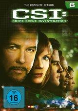 CSI: Crime Scene Investigation - Season 6 (6 DVDs) Poster