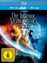 Die Legende von Aang (Blu-ray 3D, + Blu-ray 2D) Poster