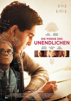 Film-Poster für The Man Who Knew Infinity