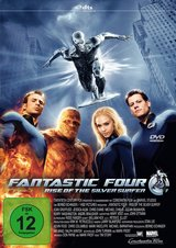Fantastic Four - Rise of the Silver Surfer (Einzel-DVD) Poster