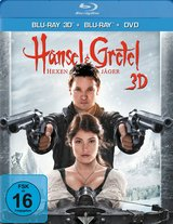 Hänsel & Gretel: Hexenjäger (Blu-ray 3D, + Blu-ray 2D, + DVD) Poster